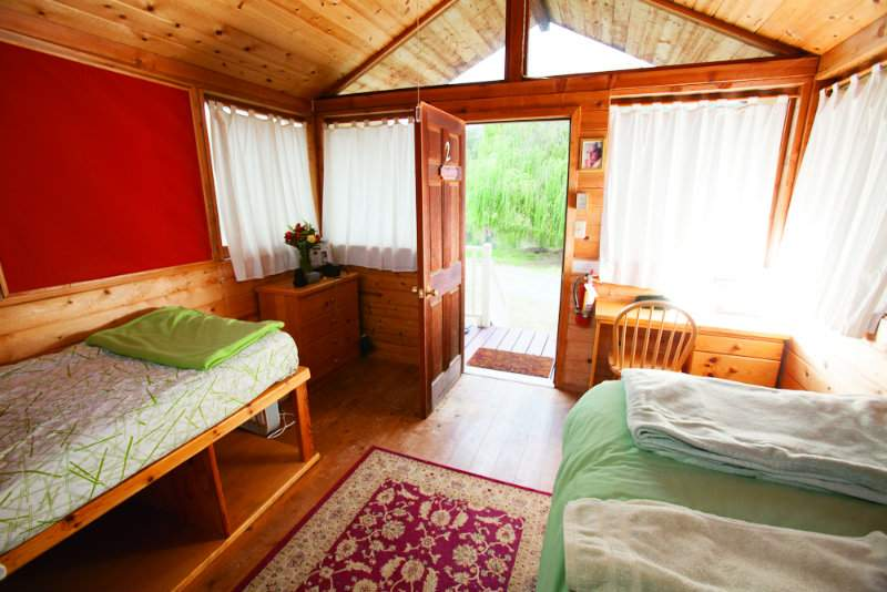 Experience the ashram accommodations and rates