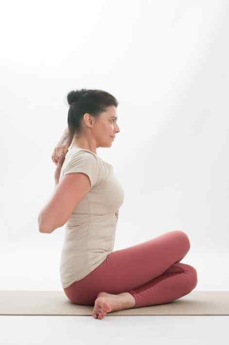 additional yoga pose sitting warrior