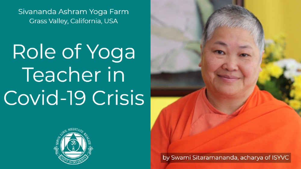 Role of Yoga Teacher in Time of COVID-19